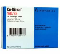 Co-Diovan 160 mg / 25 mg (28 pills)