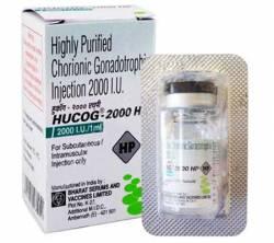 HCG HUCOG 2000iu (1 vial)
