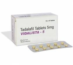 Vidalista 5 mg (10 pills)