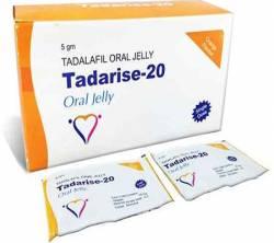 Tadarise Oral Jelly 20 mg (50 sachets)