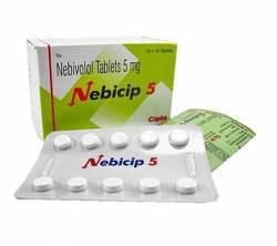 Nebicip 5 mg (10 pills)