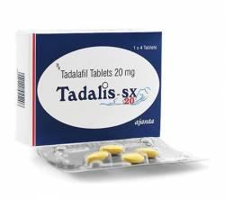 Tadalis SX 20 mg (4 pills)