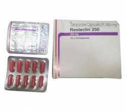 Resteclin 250 mg (10 pills)