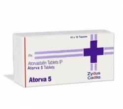 Atorva 5 mg (10 pills)