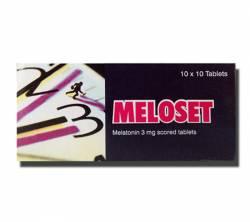 Meloset 3 mg (10 pills)