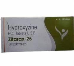 Zitarax 25 mg (200 pills)