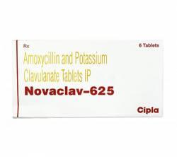 Novaclav 625 mg (6 pills)