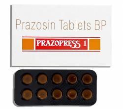 Prazopress 1 mg (10 pills)