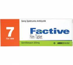 Factive 320 mg (7 pills)