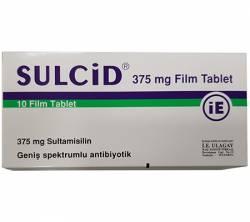 Sulcid 375 mg (20 pills)