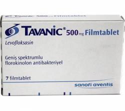 Tavanic 500 mg (7 pills)