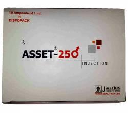 Asset 250 mg (10 amps)