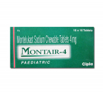 Montair Chewable Tablets 4 mg (10 pills)