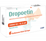 Dropoetin 2000 iu (6 prefilled syringes)