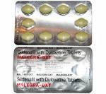 Malegra DXT 100 mg / 30 mg (10 pills)