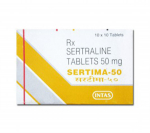 Sertima 50 mg (10 pills)