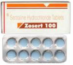 Zosert 100 mg (10 pills)