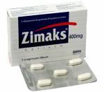 Zimaks 400 mg (5 pills)