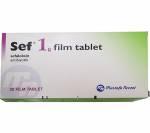 SEF 1000 mg (20 pills)