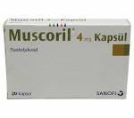 Muscoril 4 mg (20 pills)