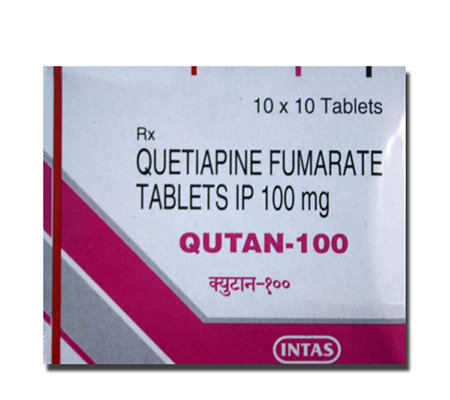 Qutan 100 mg (10 pills)